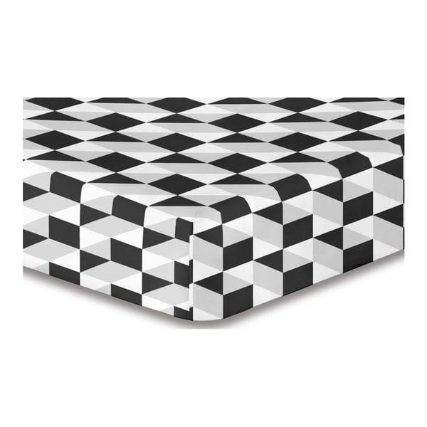 Cearșaf din microfibră DecoKing Hypnosis Mystery Day, 140-160 x 220 cm