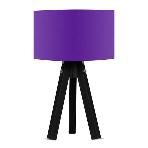 Stolní lampa s fialovým stínítkem Kate Louise Blackie
