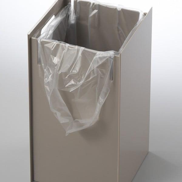 Bílý odpadkový koš Yamazaki Veil