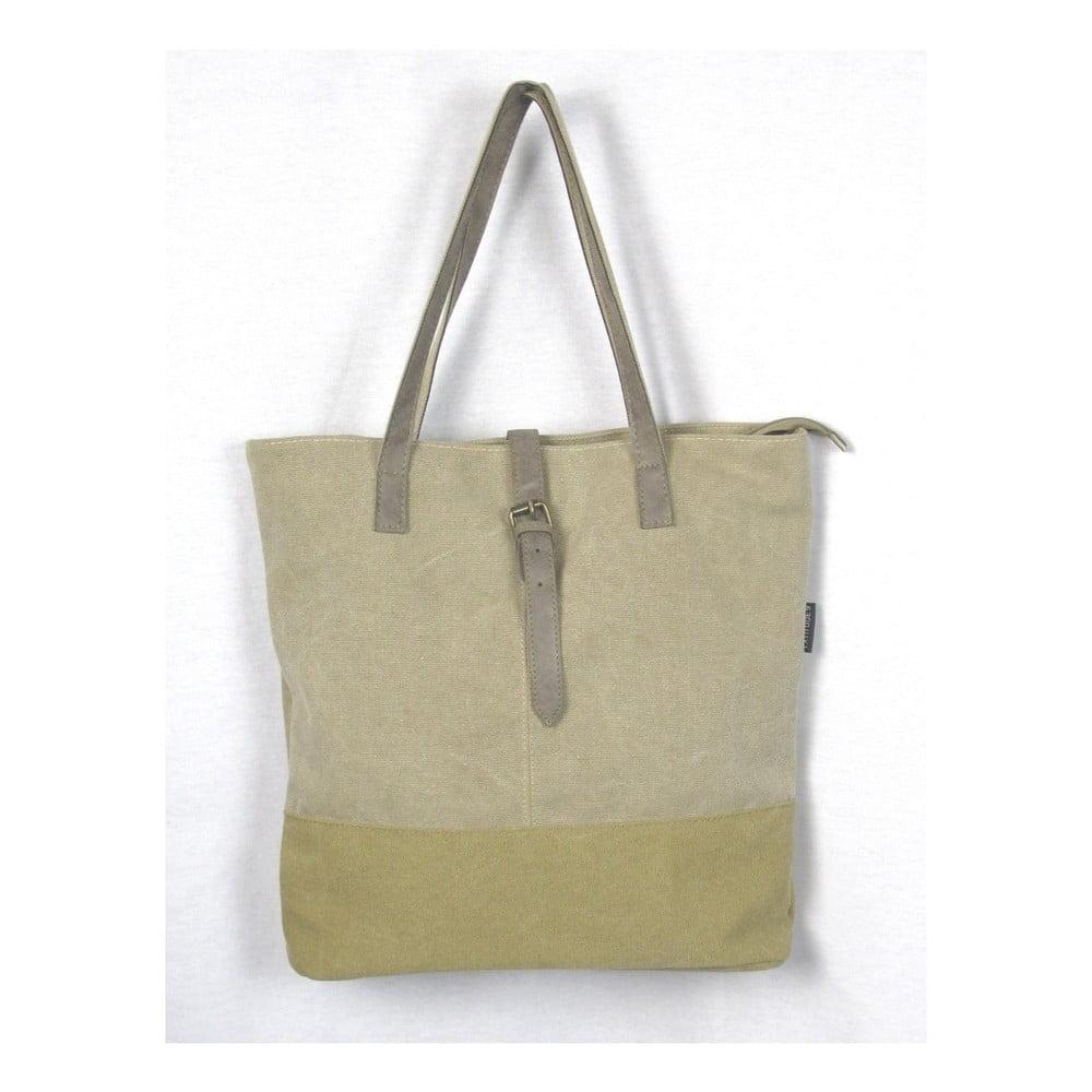Béžová plátěná taška Sorela Amira