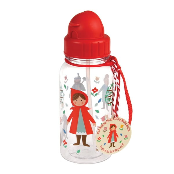 Red Riding Hood kulacs Piroska mintával, 500 ml - Rex London