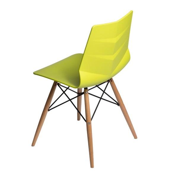 Sada 2 limetkových židlí D2 Leaf DSW
