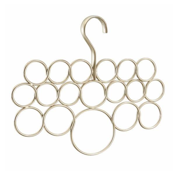 Axis aranyszínű fém sáltartó vállfa, hosszúság 29 cm - InterDesign
