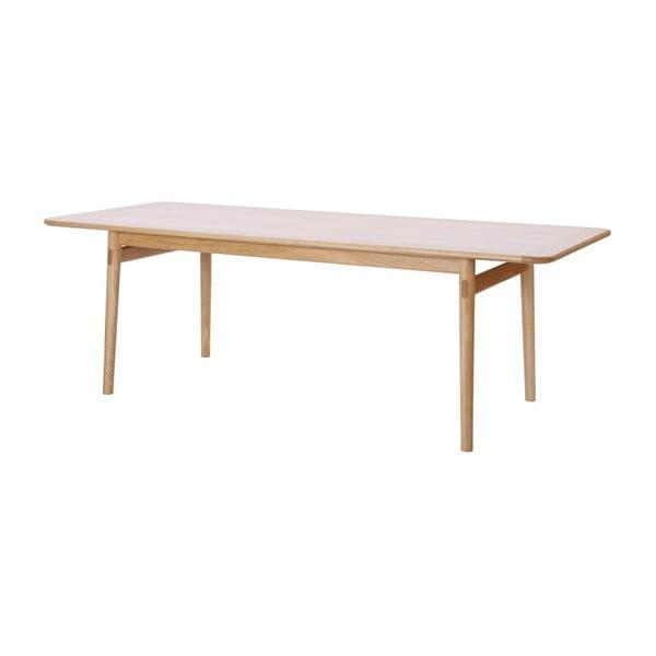 Masă din lemn de stejar WE47 Havvej, 225 x 92 cm
