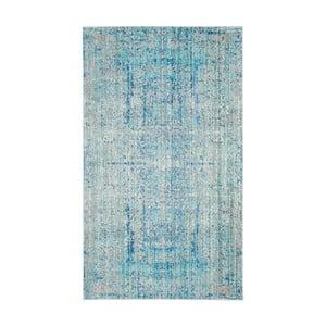 Modrý koberec Safavieh Abella, 91 x 152cm