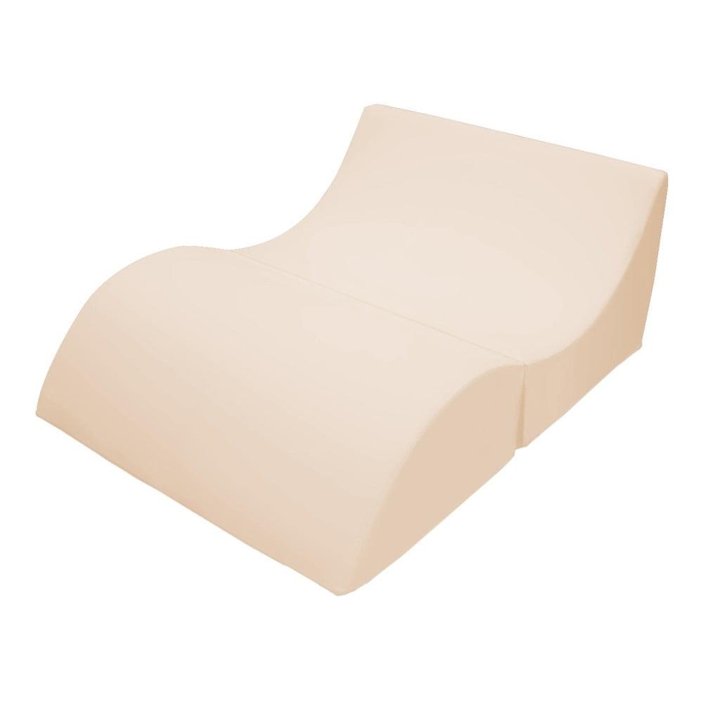 Béžové variabilní lehátko/stolek 13Casa Cleo