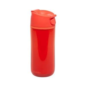 Termohrnek Flip & Sip 350 ml, červený