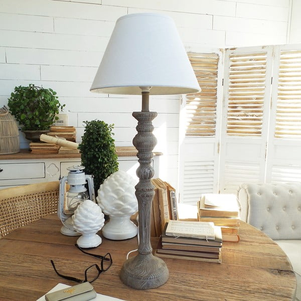 Stolní lampa Orchidea Milano Natural White