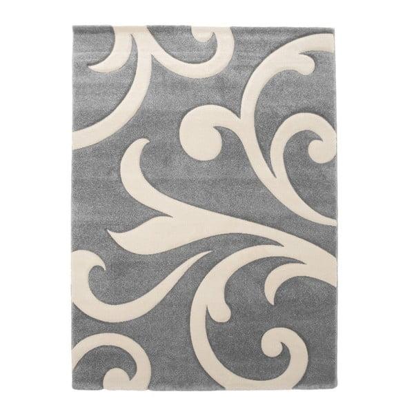 Damasko szürke szőnyeg, 140 x 190cm - Tomasucci