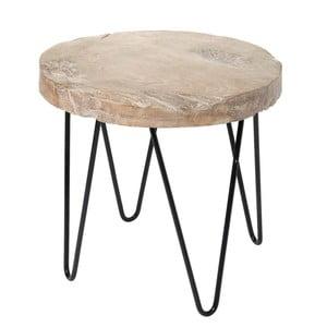 Odkládací stolek Wood Black