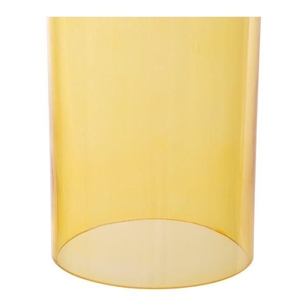 Žluté závěsné svítidlo Mauro Ferretti Bottle