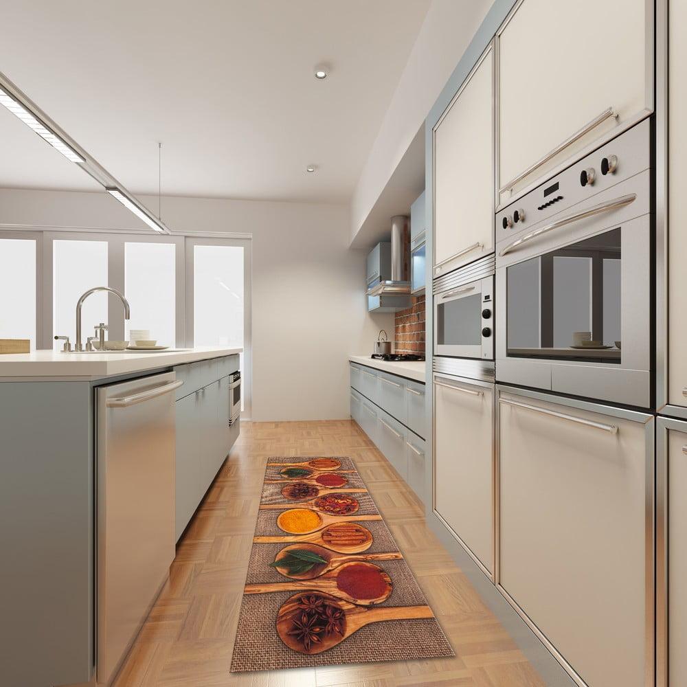 Vysoce odolný kuchyňský běhoun Webtappeti Spices, 60 x 220 cm