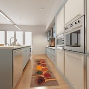 Vysoce odolný kuchyňský koberec Webtappeti Spices,60x150cm