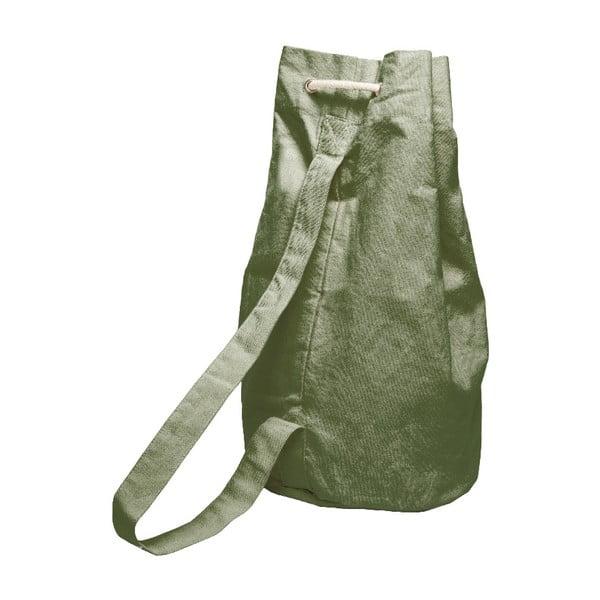 Worek Linen Couture Green Moss, szer. 40 cm