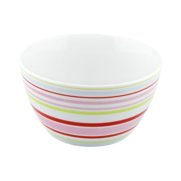Porcelánová miska Lines, barevná 4 ks