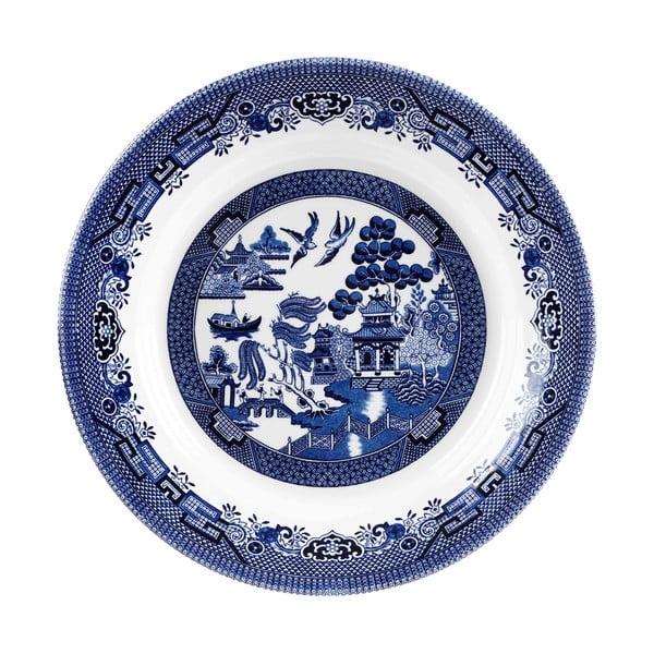 Talíř Churchill China Blue Willow, 28,5 cm
