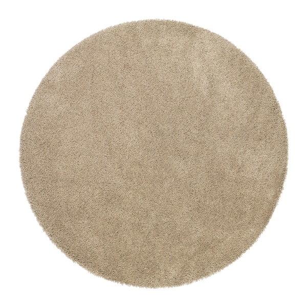 Béžový koberec Universal Aqua, ⌀80cm