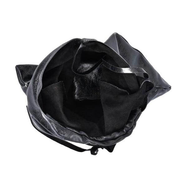 Černá kožená kabelka Isabella Rhea Duroto