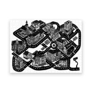 Puzzle z recyklovaných materiálů Pucle Smyčka, 500dílků