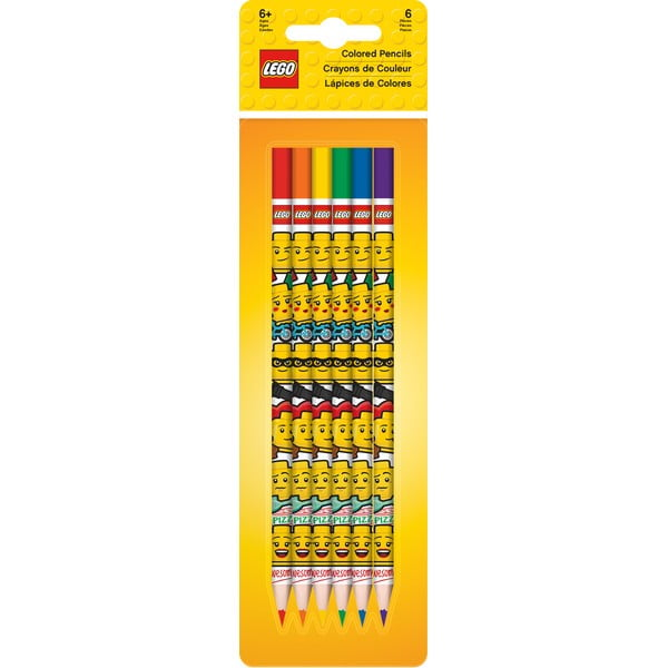 Sada 6 pastelek LEGO® Iconic