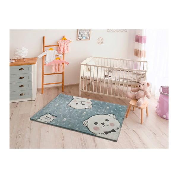 Modrý dětský koberec vhodný i na ven Universal Toys Blue, 120 x 170 cm