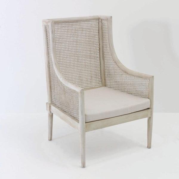 Židle s područky z ratanu Thai Natura Throne, 65 x 95 cm