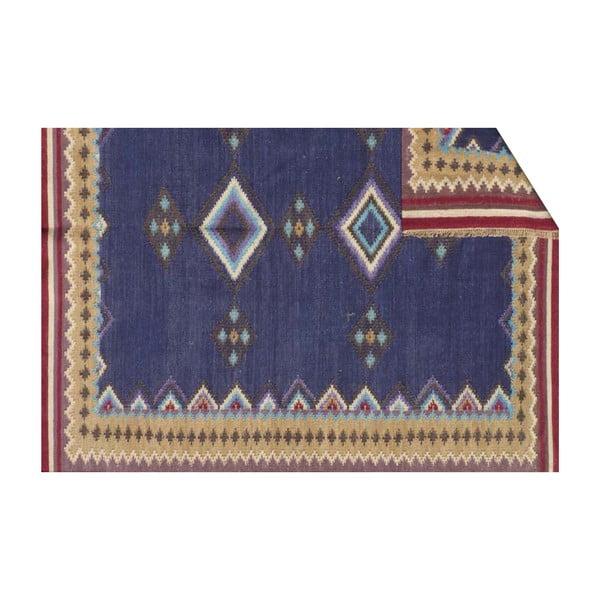 Vlněný koberec Kilim No. 729, 155x240 cm