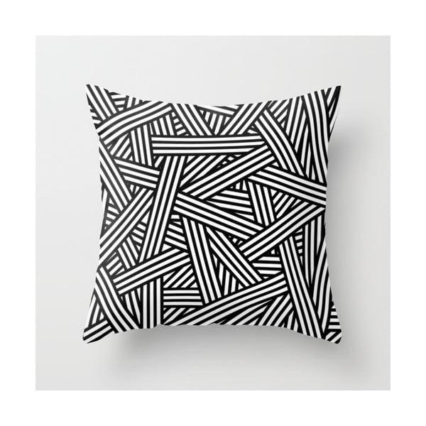 Povlak na polštář Black 'n' White II, 45x45 cm