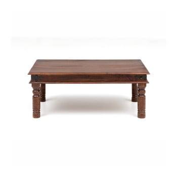 Masă de cafea din lemn de salcâm WOOX LIVING Thakat Opium, 60 x 100 cm de la WOOX LIVING