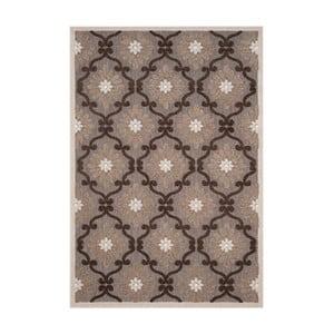 Hnědý koberec vhodný i na ven Safavieh Newburry, 99 x 160cm