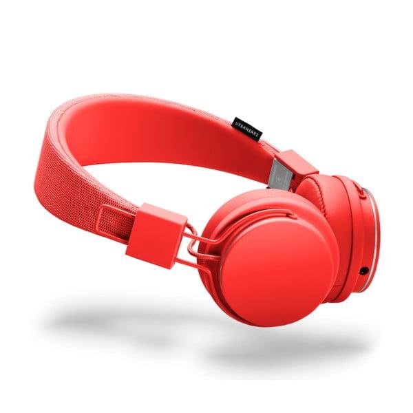 Căști audio cu microfon Urbanears PLATTAN II Tomato, roșu