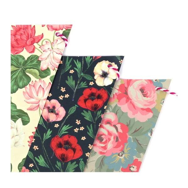 Párty vlaječky Floral