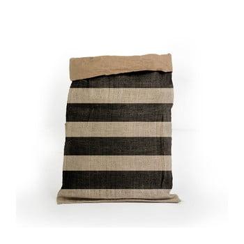Coş depozitare din hârtie reciclată Surdic Yute Stripes imagine