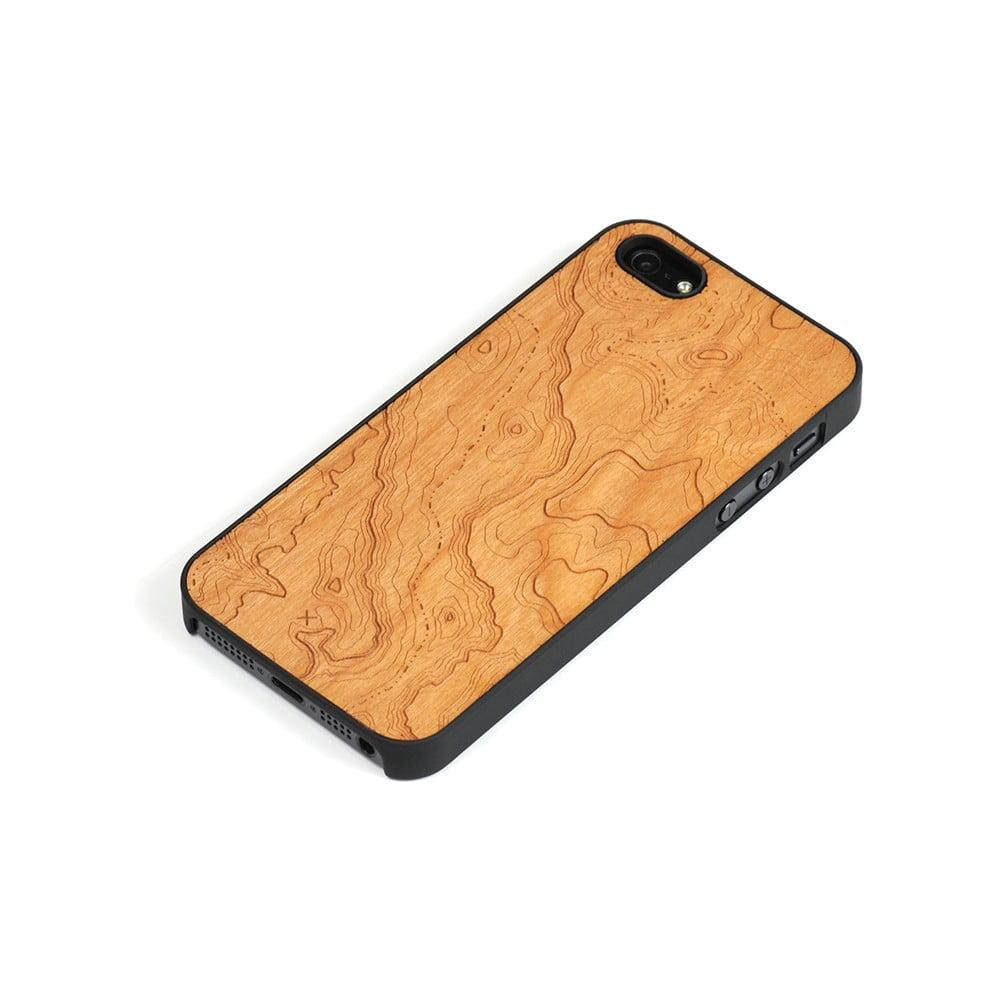 Dřevěný kryt na iPhone 5 3bf96babddb