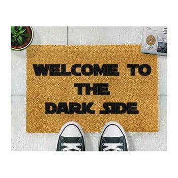 Covoraș intrare din fibre de cocos Artsy Doormats Welcome to the Darkside, 40 x 60 cm de la Artsy Doormats