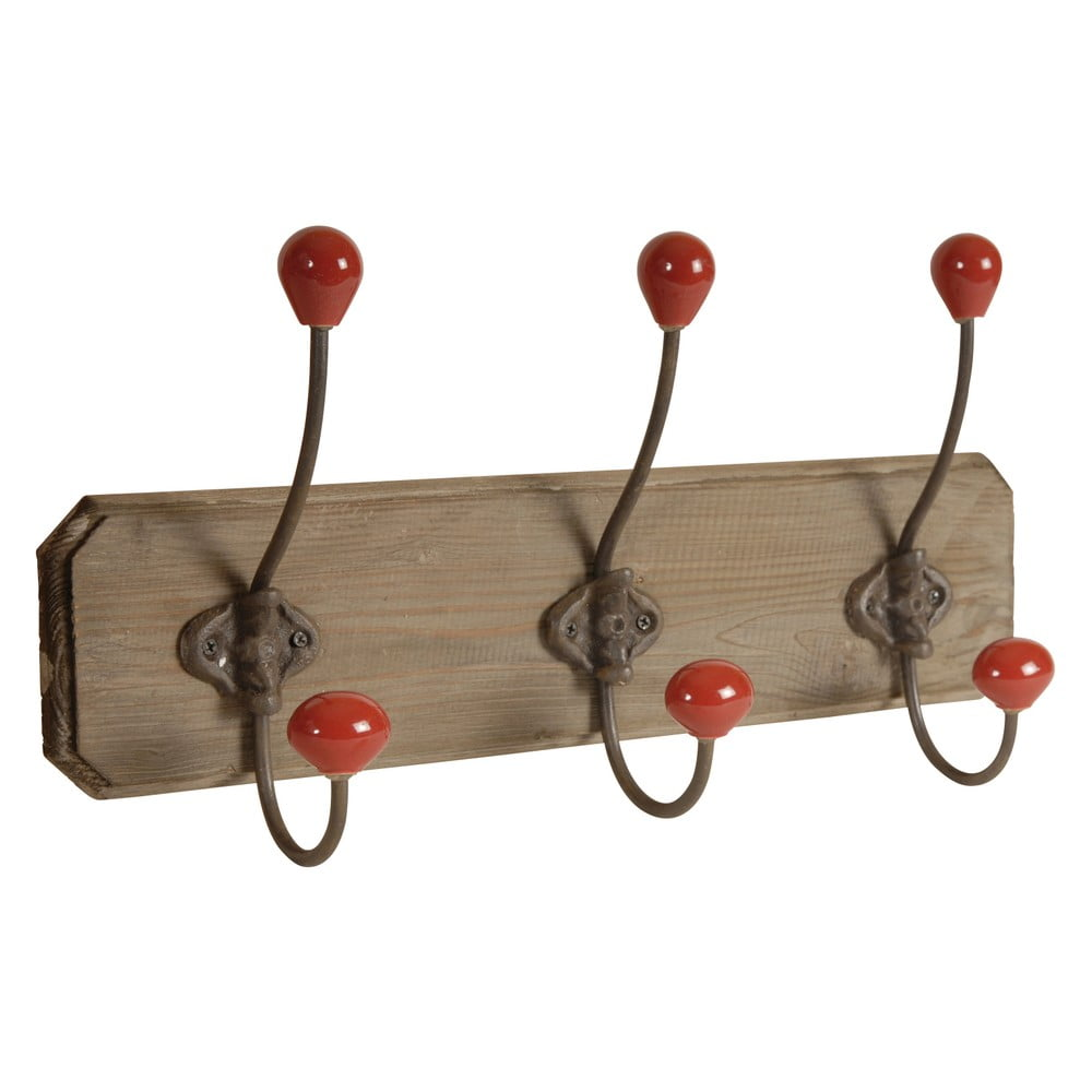 Dřevěný věšák se 3 háčky Antic Line Wooden
