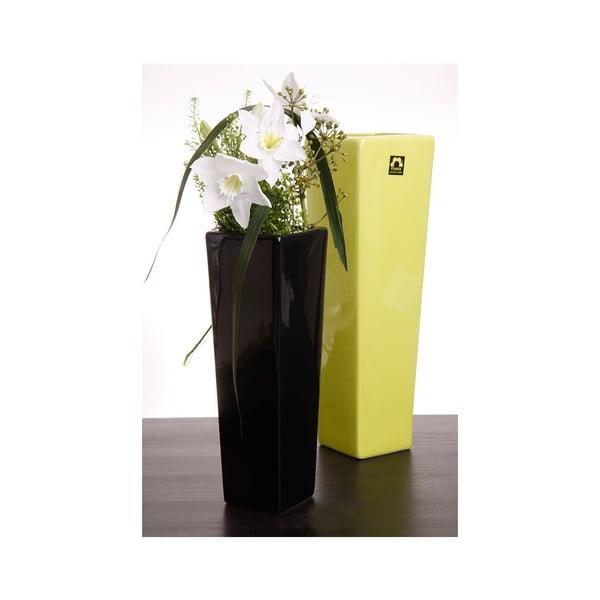 Váza Saona 27 cm, zelená