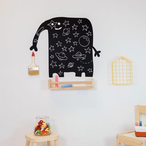 Chalk Elephant fekete írható falmatrica