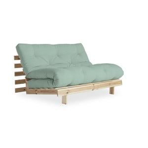 Canapea extensibilă Karup Design Roots Raw/Mint
