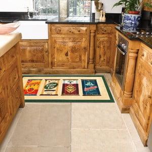 Vysoce odolný kuchyňský koberec Webtappeti Olive Oil & Co.,60x140cm
