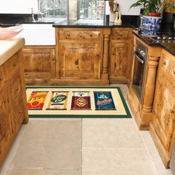 Covor de bucătărie foarte rezistent Floorita Olive Oil & Co., 60x240cm de la Floorita