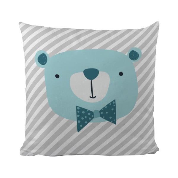 Polštář Mr. Little Fox Bear Berry, 50x50cm
