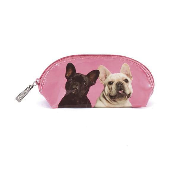 Oválná kosmetická taška Mr & Mrs