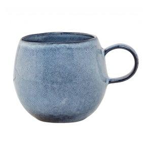 Modrý kameninový hrnek Bloomingville Sandrine