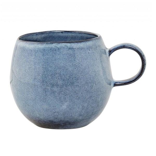 Cană din ceramică Bloomingville Sandrine, albastru
