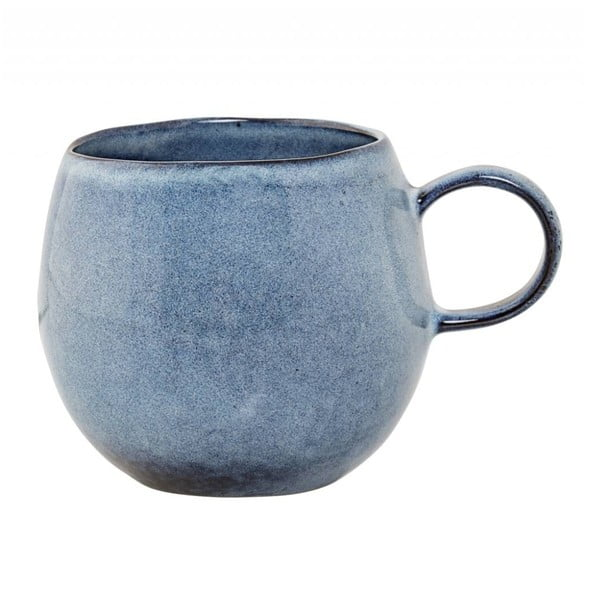 Modrý keramický hrnek Bloomingville Sandrine