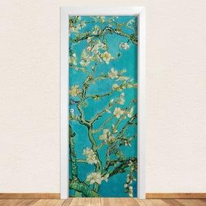 Samolepka na dveře LineArtistica Mandorlo, 80 x 215 cm