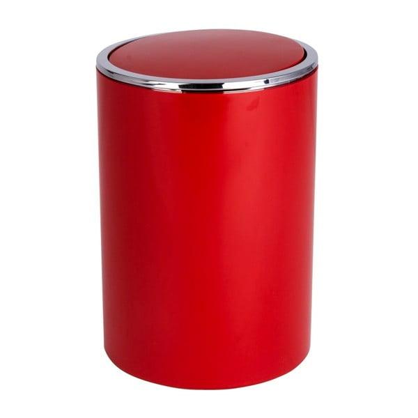 Červený odpadkový koš Wenko Inca Red