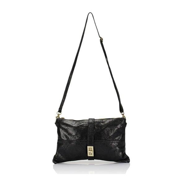 Kožená kabelka Markese 116 Black