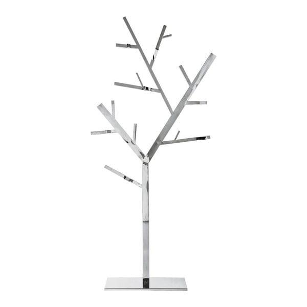 Věšák ve stříbrné barvě Kare Design Tree
